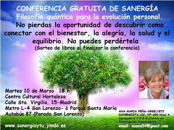 Conferencia Sanergía